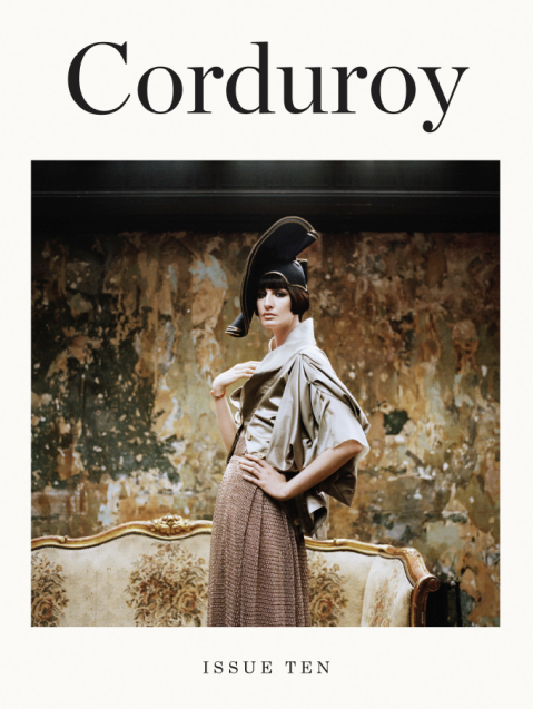 Corduroy, Issue 10, Art Direction by Peter Ash Lee