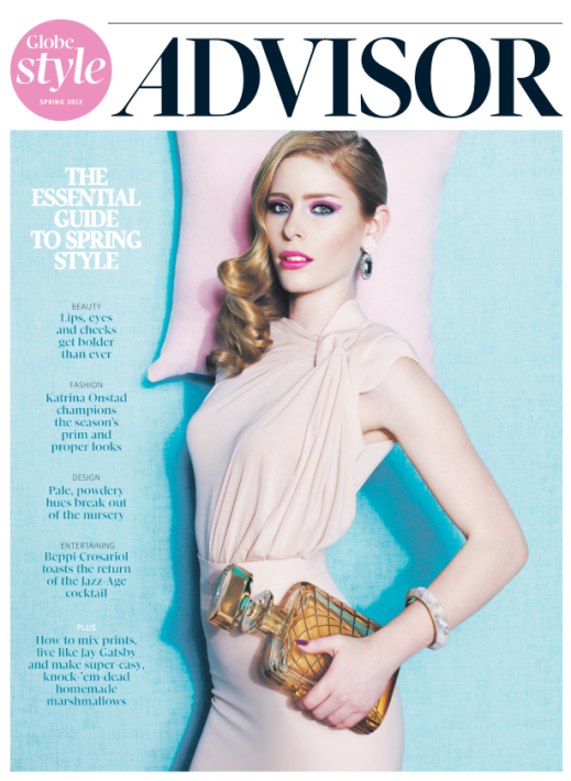 Globe Style Advisor, Spring 2012, Art Direction by Bryan Gee + Kate LaRue