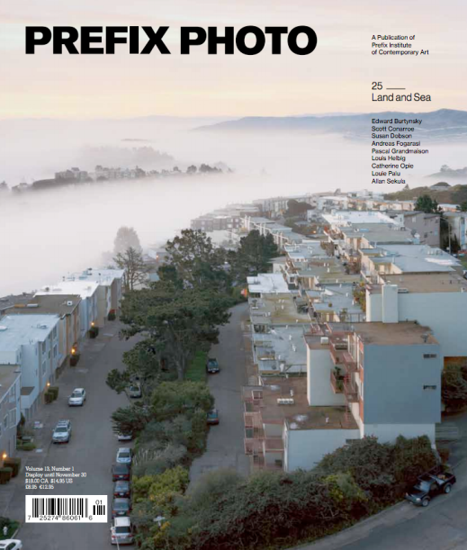 Prefix Photo, Issue 25: Land and Sea, Art Direction by Underline Studio