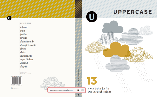 Uppercase, Issue 13, Art Direction by Janine Vangool