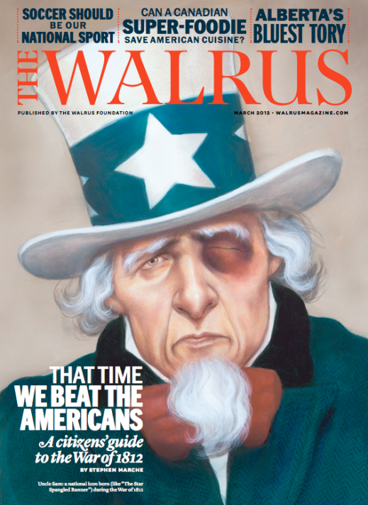 """That Time We Beat the Americans"" - The Walrus, Art Direction by Brian Morgan"