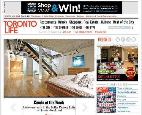 torontolife.com (Toronto Life; web editor: Andrew Wallace)