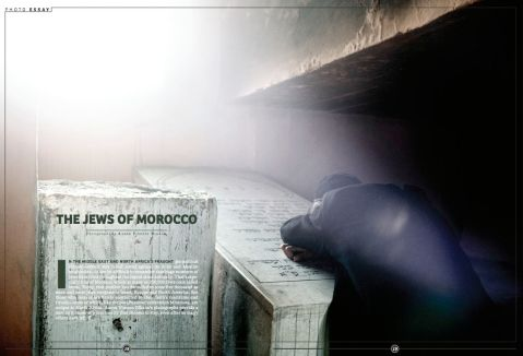 """The Jews of Morocco,"" photography by Aaron Vincent Elkaim for Maisonneuve"