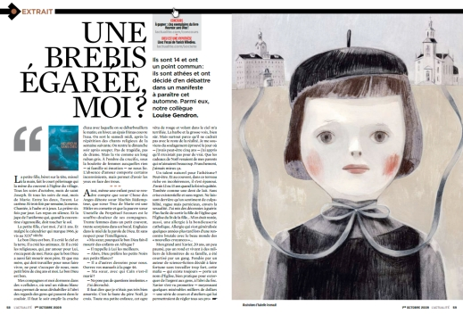 """""""Une brebis egaree moi?"""" Finaliste pour un Prix du magazine canadien, 2009"""