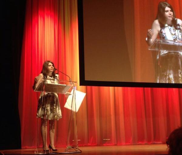 Jess Taylor at the 2014 NMA Gala