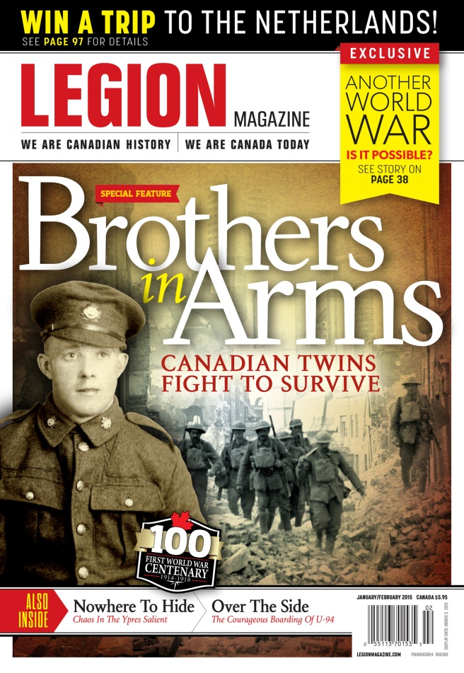 The January/February 2015 cover of Legion.