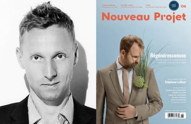 Nicolas Langelier (Photographe : Maxime Leduc); Nouveau Projet numéro 6