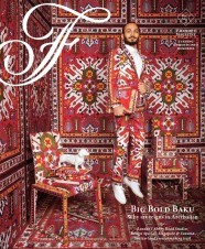 Nathalie Cusson, Art Director, Natasha Mekhail, Editor: "Big Bold Baku" Fairmont
