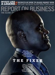 "Domenic Macri, Art Director, Gary Salewicz, Editor: ""The Fixer"", Report on Business"