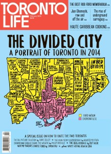 "Christine Dewairy, Art Director, Sarah Fulford & Angie Gardos, Editors: ""Divided City"", Toronto Life"