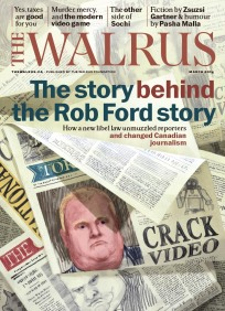 The Walrus - Published by The Walrus Foundation, John Macfarlane, Editor Brian Morgan, Art Director
