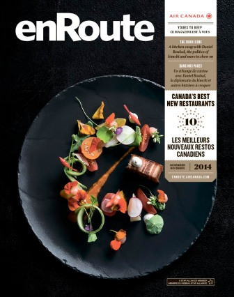"Adam Cholewa, Art Director, Ilana Weitzman, Editor, ""The Food Issue"" (November 2014) enRoute"