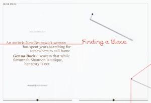 Genna Buck,  Finding a Place,  Maisonneuve