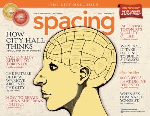 Spacing Published by Spacing Media