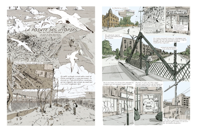 """La pointe des utopies"" by Remy Bordillon and Pierre-Yves Cezard. Gold Medal in Words & Pictures"