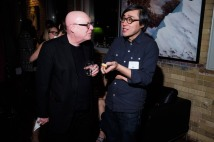 Marc Glassman of Montage with Charles Yao of Little Brother Magazine