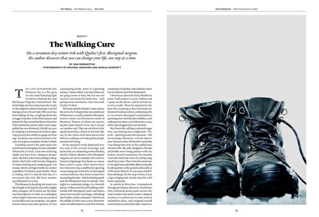 """Read """"The Walking Cure"""" (The Walrus)"""