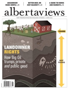 Alberta Views, 1 of 3 finalists for Alberta Magazine of the Year