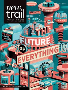 New Trail, 1 of 3 finalists for Alberta Magazine of the Year