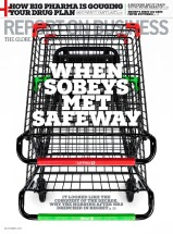 When Sobeys Met Safeway Report on Business Domenic Macri, art director Duncan Hood, editor Jens Kristian Balle, photographer